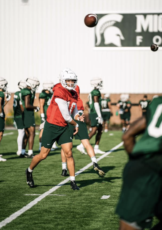 MSU QB Payton Thorne receives Conference Honors