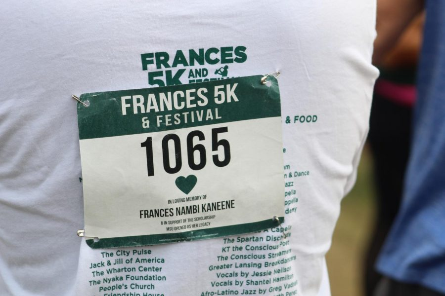 First annual Frances 5K and Festival held at Hawk Island Park