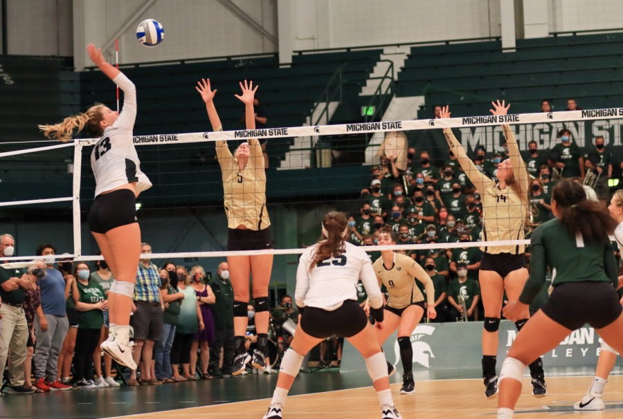 MSU outside hitter Sarah Franklin receives Co-Freshman of the Week Honors