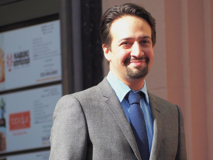 Lin-Manuel Miranda Walk of Fame ceremony by lukeharold is marked with CC0 1.0